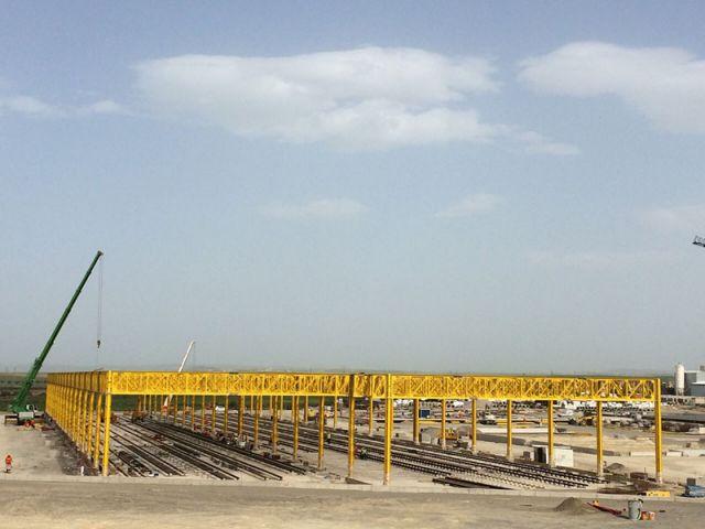 Cezayir Sidi Bel Abbes Tramvay Hattı Projesi– Yapı Merkezi